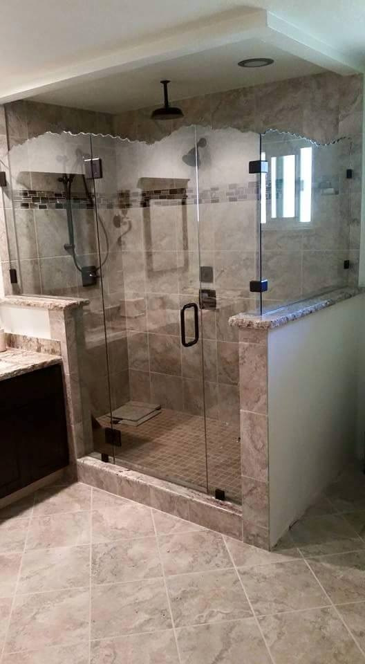 Custom Frameless Shower Enclosures
