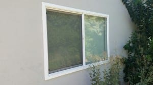 After- Milgard Dual Pane Vinyl Window