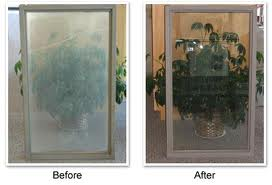 before and after window treatment