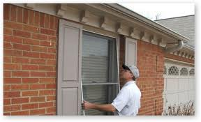 install window screens