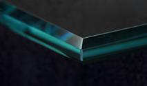3 Sided Prism shelf glass edge