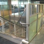 Glass Railing commercial