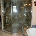 glass shower enclosure- large custom