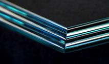 Triple Pencil shelf glass edge