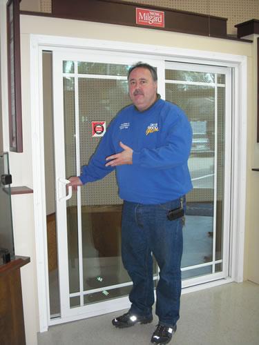 showroom slider door