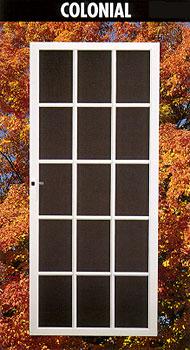 Colonial screen door