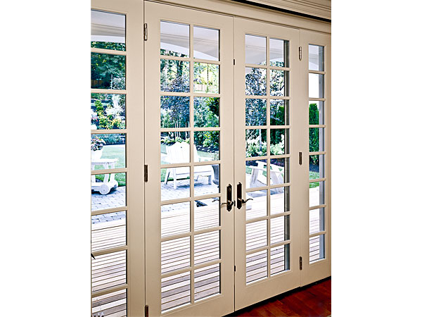 Ultra In Swing French Door white