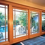 WoodClad Sliding French Door