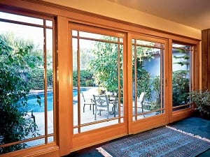 Wood Clad Sliding French Door large