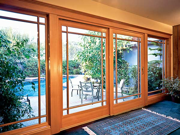 Glass patio doors installation repair and replacement for French window