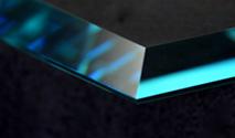 mitre glass edge