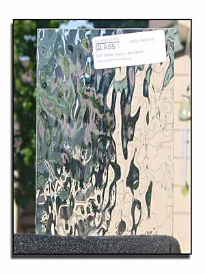 Cabinet And Pattern Glass Panels