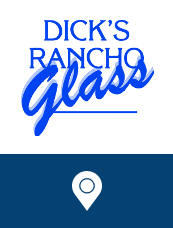 Fair Oaks location of Dick's Rancho Glass near Citrus Heights and Carmichael