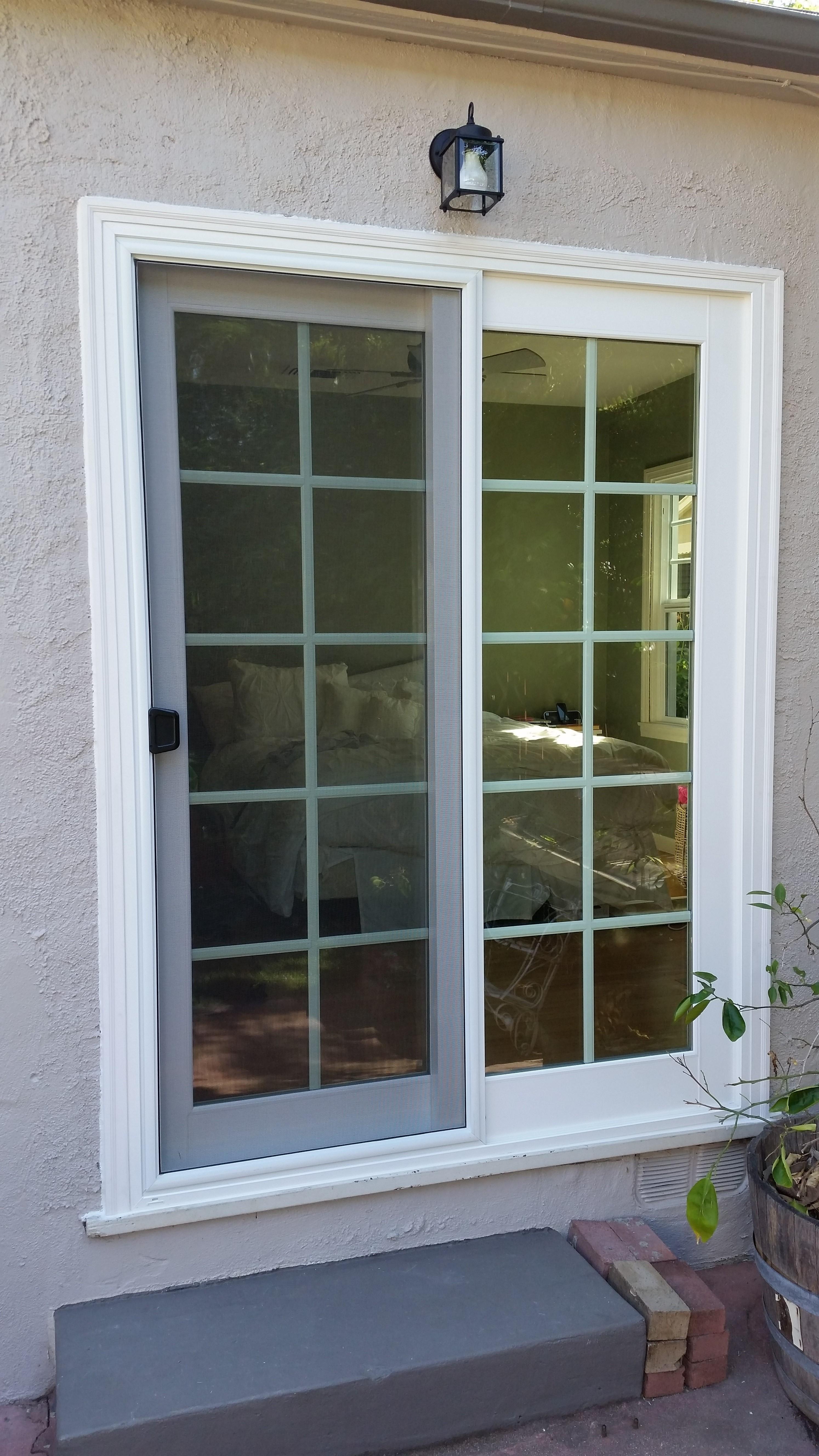 door after side