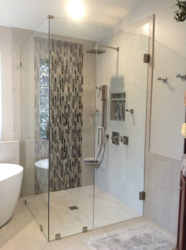 Custom Frameless Shower Enclosures And Shower Doors