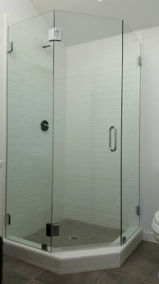 our expert glaziers have decades of experience installing frameless shower enclosures of all different here are some examples of the