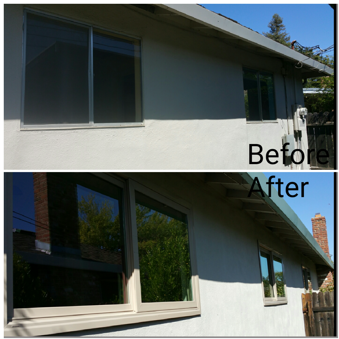 River City Before and after new windows