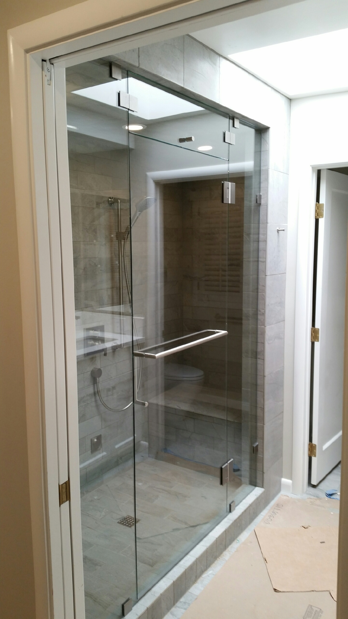 Custom frameless shower enclosures and shower doors glass options eventelaan Images