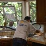 window installation in the kitchen
