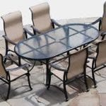 patio table oval