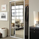Concord Sliding Closet Door Mirrored