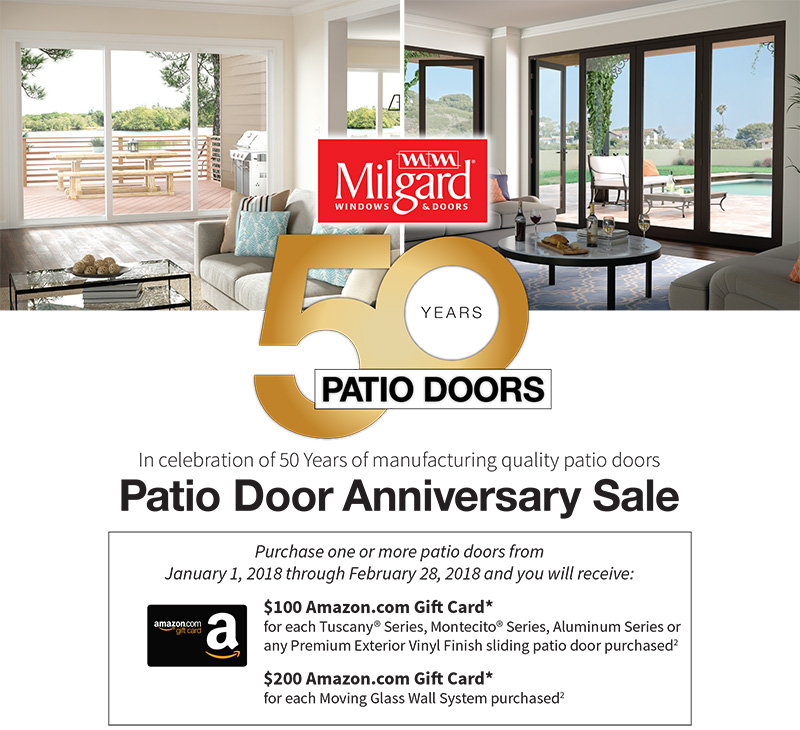 Milgard Patio Door Promotion
