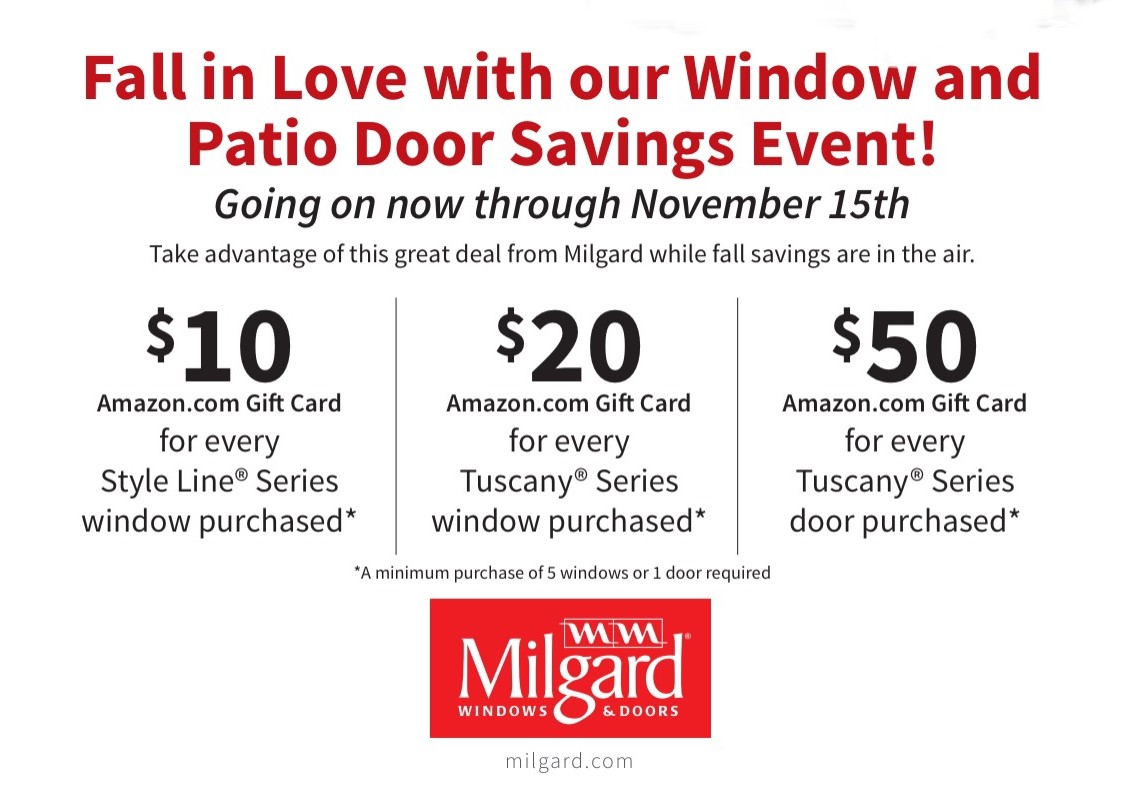 Milgard promotional event flyer