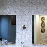 Pair of mirrors - vanity - bathroom