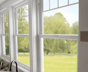 Tuscany Series vinyl windows in home - Milgard window dealer fair oaks