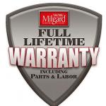 Warranty logo Milgard