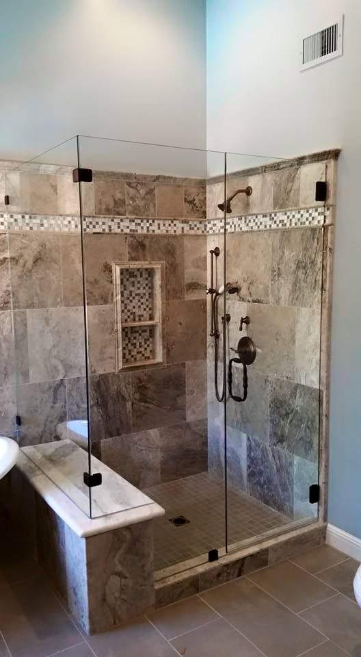 Glass - Shower Enclosure - Frameless Shower_FairOaks
