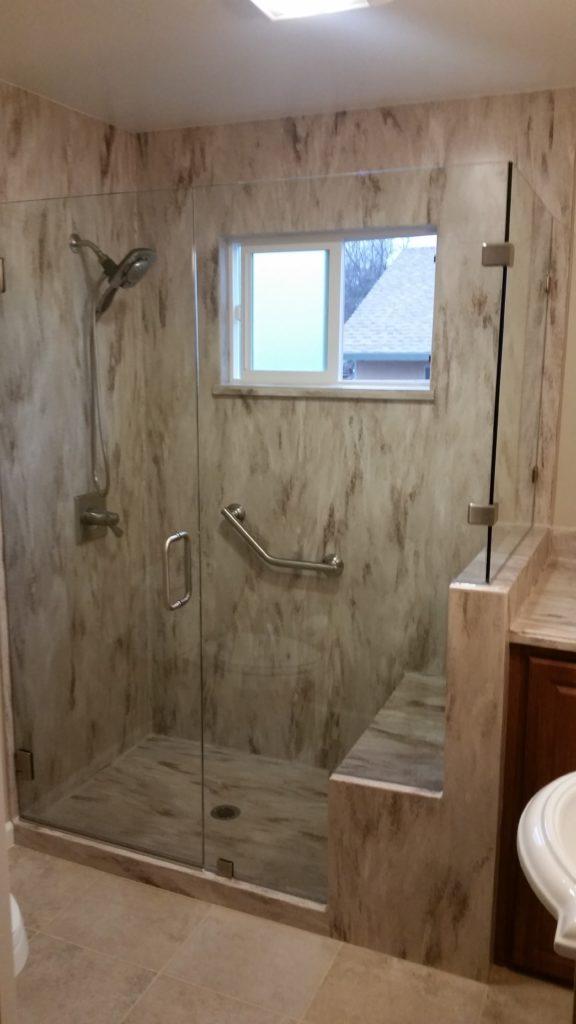 Glass - Shower Enclosure Frameless_Shower_Granite_Bay-576x1024