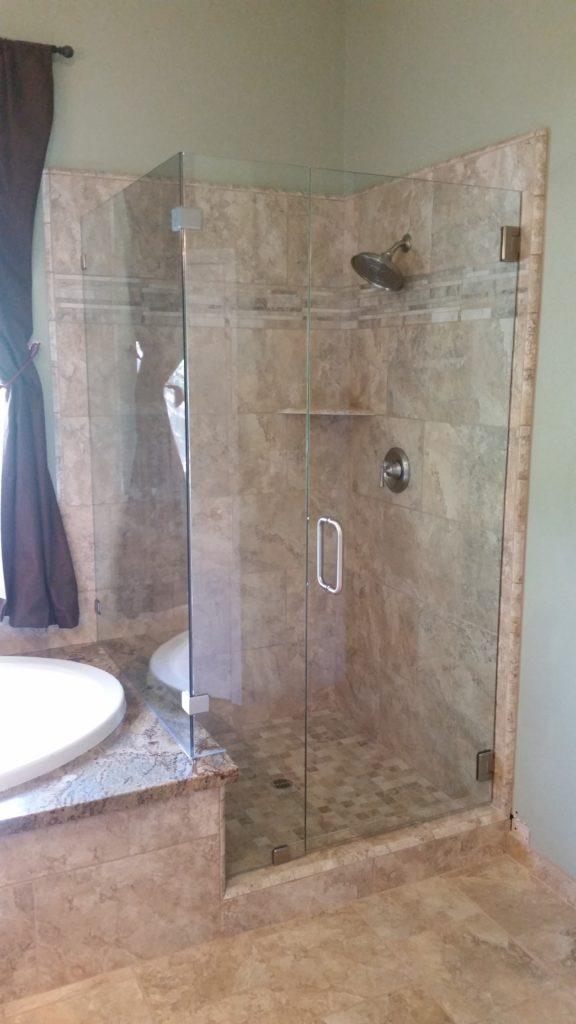 Glass - Shower Enclosure Frameless_Shower_Roseville-576x1024