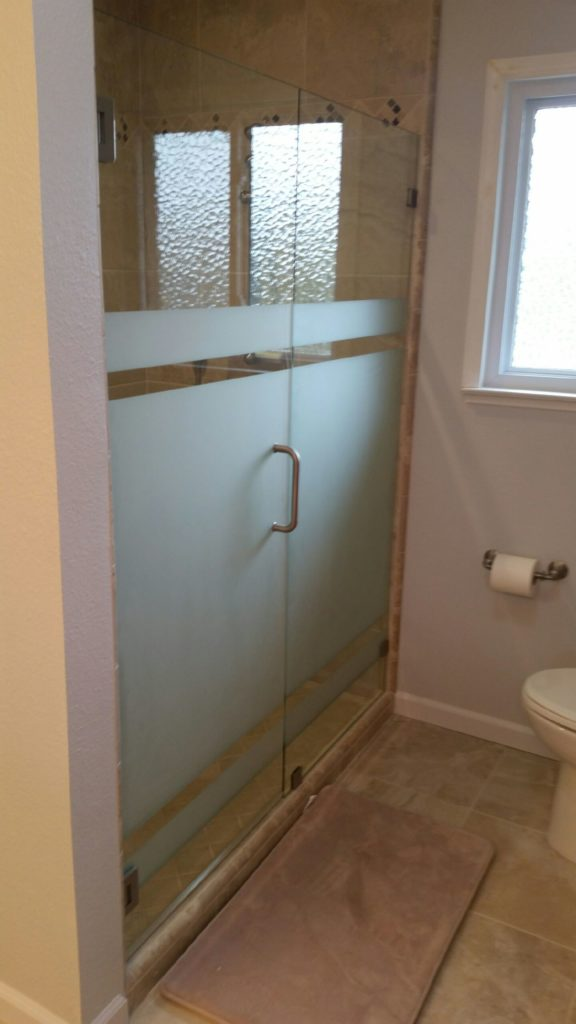 Glass - Shower Enclosure Sandblasted_Shower_Glass-576x1024