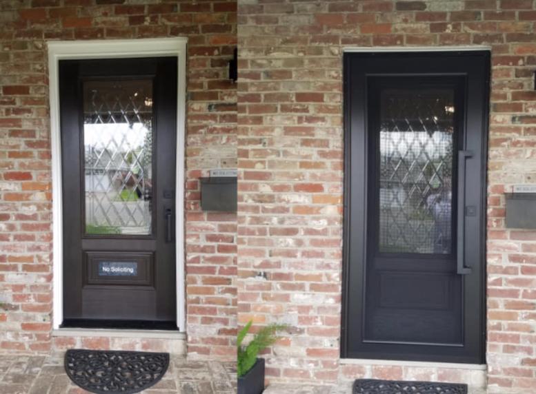 Security Screen Doors That Look Great Dick S Rancho Glass