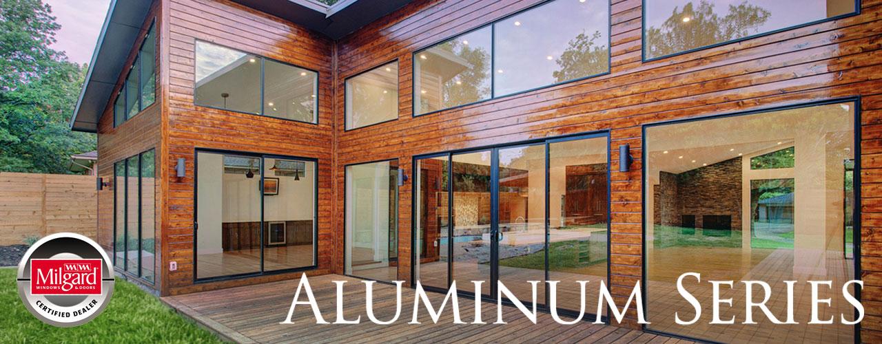 Milgard Aluminum Patio Doors